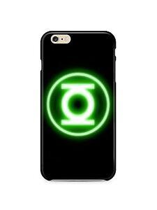 Iphone-4s-5-5s-5c-6-6S-7-8-X-XS-Max-XR-Plus-Hard-Cover-Case-Green-Lantern-Logo