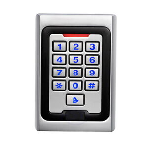 Standalone keypad access control with RFID Proximity 125Khz EM ID card support