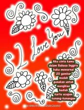 Aku Cinta Kamu Dalam Bahasa Inggris Buku Mewarnai 20 Gambar Mudah Gunakan...
