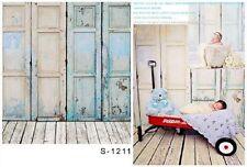 3x5ft Vinilo Fotografía Fondo Suelo de madera con temas de bebé Kulisse Studio