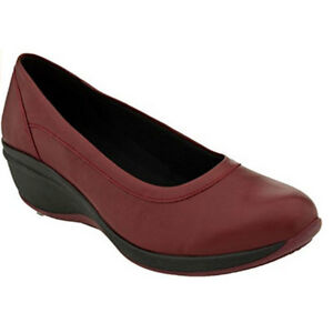 8e9fba8715fe Arcopedico Giselle Red Leather Flats, size EU 41 = US 9.5 to 10 | eBay
