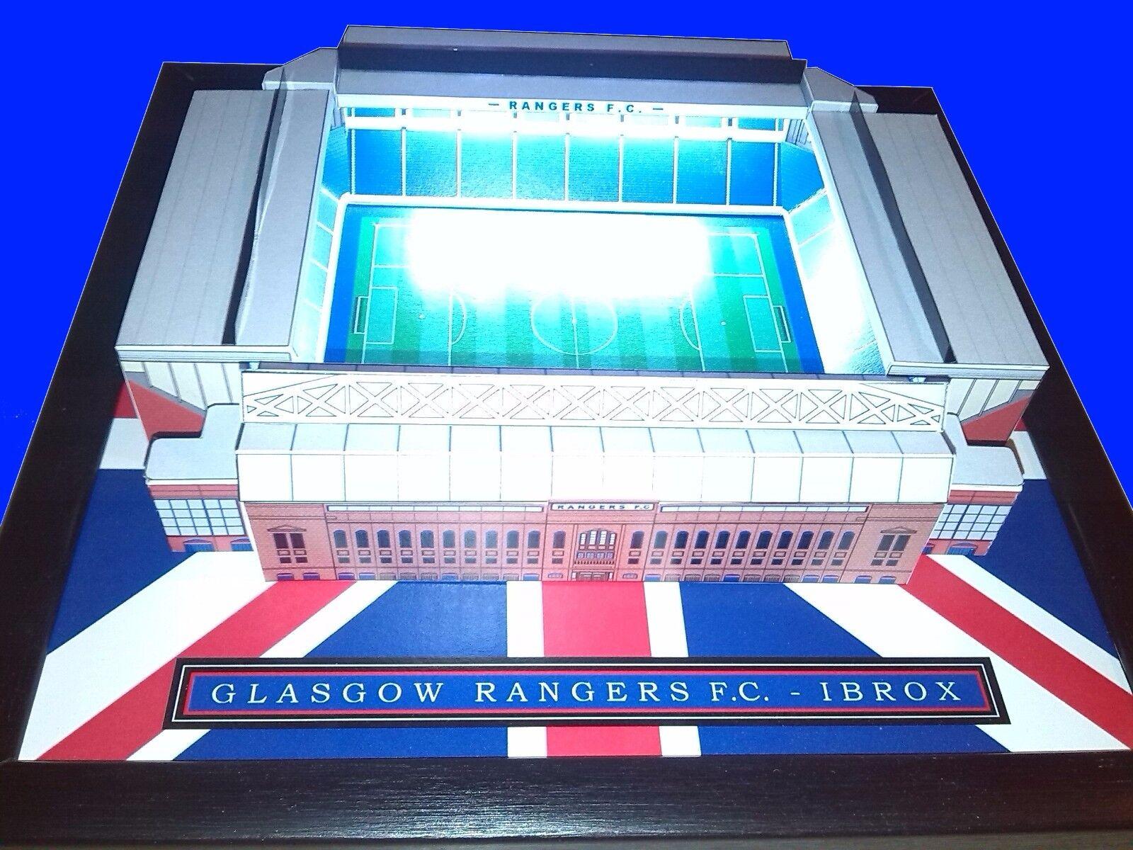 Personalisiert Mini Fußballstadion mit Working Lichter | Clearance Sale  | Großer Räumungsverkauf