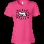 Pop Art 880 Anvil Ladies/' Lightweight T-Shirt 4.5 o Retro Keith Herring 80/'s
