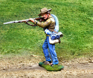 COLLECTORS SHOWCASE CIVIL WAR CONFEDERATE BUTTERNUTS CS00824 REBEL SHOOTING MIB