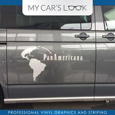 Volkswagen T5 Multivan PanAmericana - raya lateral pegatina gráficos pegatina