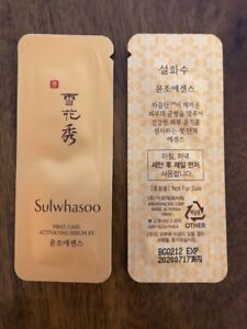 Sulwhasoo-First-Care-Activating-Serum-EX-1ml-x-100pcs-Amore-US-Seller-Free-Ship