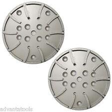 2pk 10 Concrete Grinding Head For Edco Blastrac Grinders 20 Seg 5060 Grit