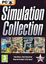 Simulation Collection Crane, Digger, Forklift Truck, Demolition Download PC New