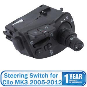 For Renault Clio MK3 2005-2012 Wiper Radio Switch Stalk Steering Column Stalk