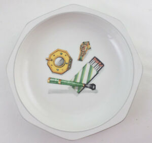 Villeroy-amp-Boch-Porcelain-Trompe-l-039-Oeil-Bowl-Butler-No-2-Cigar-Smoker-Valet