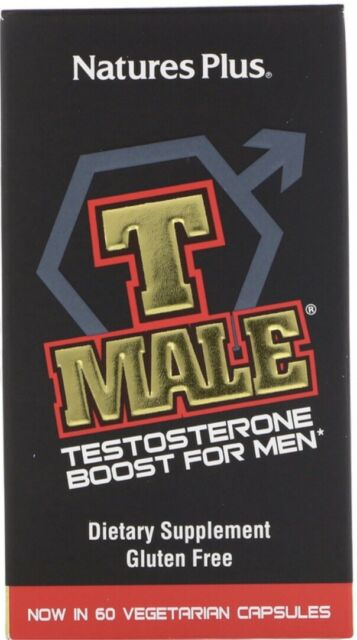 Nature's Plus - T Male Testosterone Boost For Men - 60 Capsules for sale online eBay