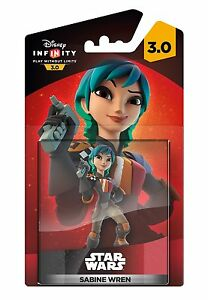 Disney-Infinity-3-0-Star-Wars-Sabine-Wren-Figurine-Neuf-PS4-PS3-Xbox-un-Wii