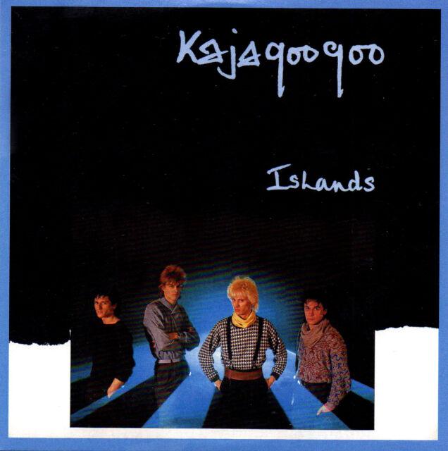 KAJAGOOGOO - Islands - CD (Nick Beggs, Big Apple etc)