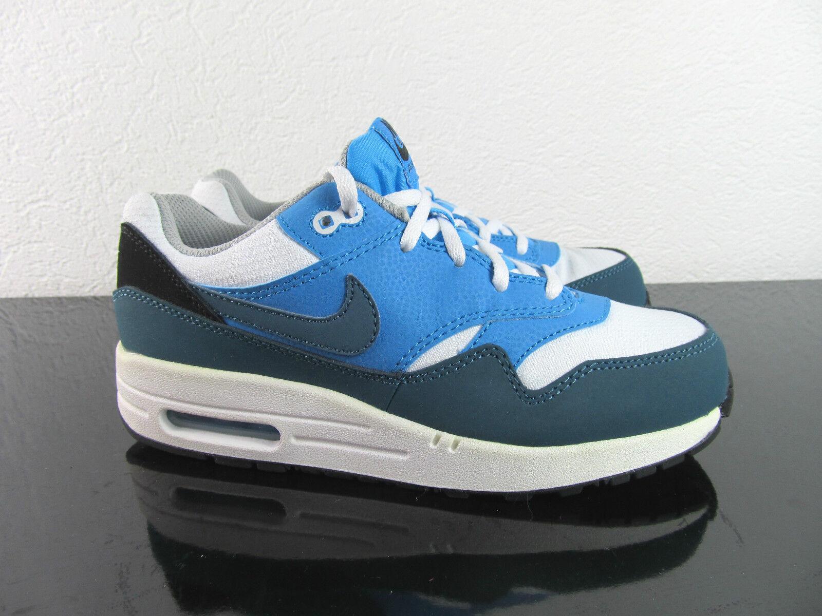 Nike Air Max 1 cipők White Night Factor élénk kék EUR_35 39