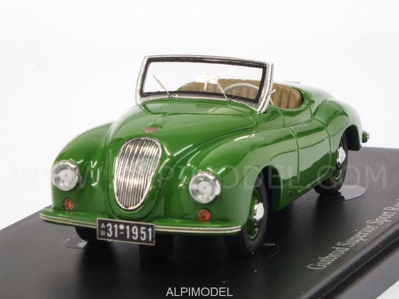 Gutbrod Superior Sport Roadster 1951 vert 1 43 AUTO CULT 03008