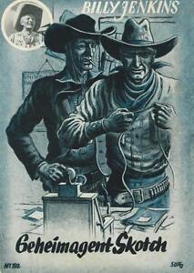 Billy Jenkins 182 (z1-2), Uta-afficher Le Titre D'origine Construction Robuste