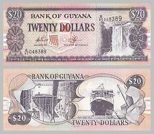 Guyana 20 Dollars 1996 p30e unz.