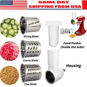 For-KitchenAid-Stand-Mixer-Prep-Slicer-Shredder-Attachment-Food-Processor-USA