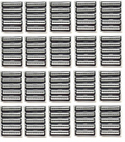 Trac Ii Plus Generic Blades Bulk Packaging - 100 Cartridges Fits Gillette Razor on sale