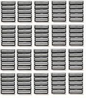 Trac Ii Plus Generic Blades Bulk Packaging - 100 Cartridges Fits Gillette Razor