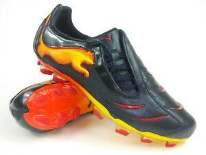 Ligero Describir Corteza  Puma Mens Rare PowerCat 1.10 Tricks FG 101993 01 Black Orange Cleats Size  8.5 884628994442 | eBay