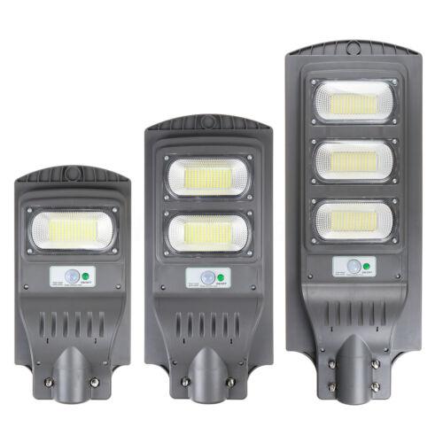 900W 90000LM LED Solar Street Light PIR Motion Sensor Outdoor Wall Lamp+Remote