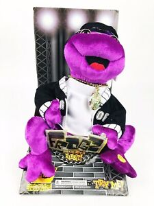 Vintage-Hip-Hop-Frogz-Rock-It-Rap-It-Ribbit-Gemmy-034-In-Da-Club-034-by-50-Cent-Frog