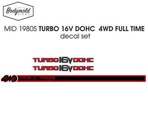 Ford-Laser-TX3-TURBO-16V-DOHC-decal-set