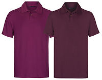 Marks & Spencer Mens Pure Cotton Polo Shirts New M&S Short Sleeve T Shirt Top