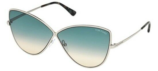 ad73f7f91d4a Tom Ford Elise-02 Ft0569 16w Shiny Palladium blue Green Shaded for sale  online