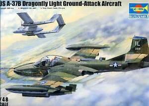 100% De Qualité Trompettiste Us A-37b Libellule Lumière Ground-attack Vietnam Chile 3 Versions 1