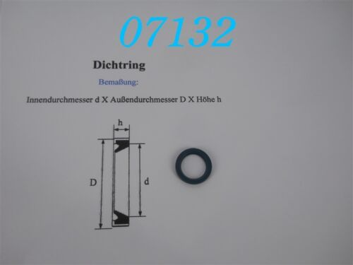 INA DICHTRING  G 16 x 22 x 3 mm