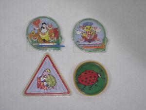 Lot-de-4-jeux-a-billes-vintage-labyrinthe-amp-flippers-de-poche-annees-80-90-2000