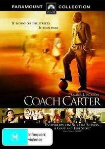 Coach-Carter-DVD-2005-R4-Terrific-Condition-Samuel-L-Jackson