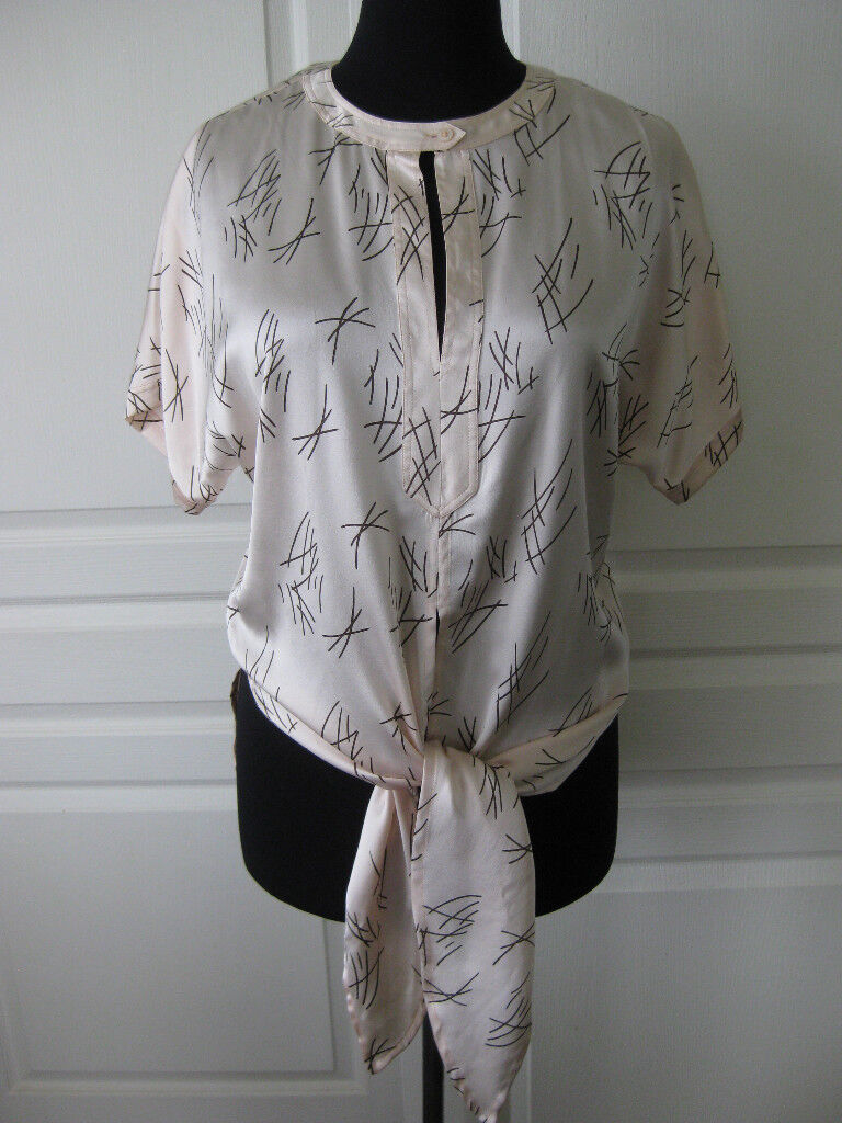 ESCADA de Margaretha Ley Made in Gerhommey Vintage Silk chemisier 38 8