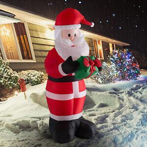 6ft-Christmas-Inflatable-Santa-Claus-Air-Blown-Holiday-Yard-Decoration-LED-Light