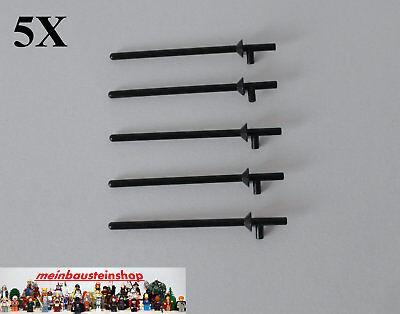 Onestà 5x Lego ® 3849 Statuine Lancia Pennone Lance Nero Black-mostra Il Titolo Originale