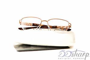 d950515e501 Image is loading Versace-Eyeglasses-Versace-1220B-1052-52-16-Copper