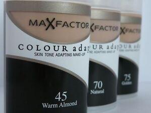 Max-Factor-Color-adaptar-Tono-de-Piel-adaptando-Base-Maquillaje-Elige-Sombra