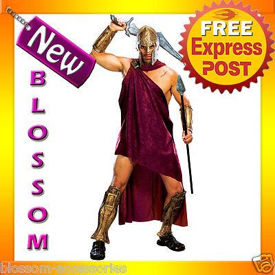 C45 Mens 300 Movie Spartan Deluxe Greek Roman  Fancy Dress Adult Costume