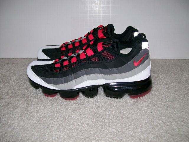 NEW SZ 8 SZ 9 Nike Air Vapormax '95 AJ7292 101 Hot Red 97 98 93 90 TN 1 Plus Max