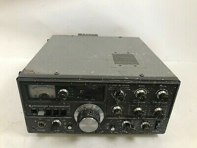 Kenwood Ts 520 Transceiver 80 To10 Meters Ssb Cw Ham Radio That Work S Great For Sale Online Ebay