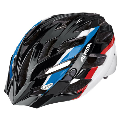 Alpina Panoma black blue red Fahrradhelm Art A9665x36
