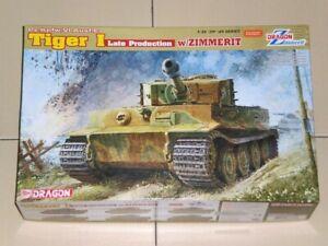 Dragon-1-35-6383-Tiger-I-Late-Production-w-Zimmerit-Pz-Kpfw-VI-Ausf-E-kit