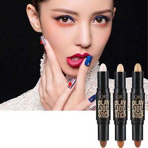 Women-Makeup-Palette-Contour-Kit-Face-Eye-Concealer-Foundation-Cream-Invisible