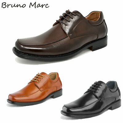 Bruno Marc Mens Oxford Classic Lace Up Formal Dress Shoes