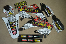 Rockstar team graphics Honda CRF450 CRF450R  2002 2003 2004  CRF