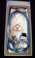 Grx Medical Stethoscope Advanced Lightweight Caribbean Blue Nursing 22