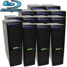 250 SATA Blu-ray CD DVD Disc Burner Daisy Chain Duplicator Writer Copier