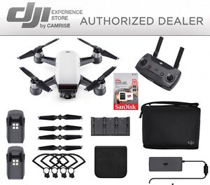 DJI-Spark-Fly-More-Combo-enhanced-bundle-Drone-White-includes-32GB-memory-Card
